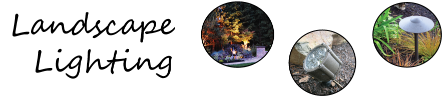Light up your landscape with John Darby Landscape!