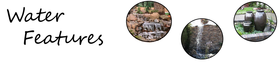 Ponds, waterfalls, fountains - we build 'em to order, and the results speak for themselves!